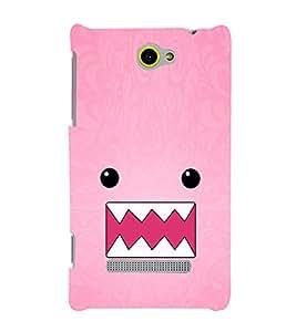 EPICCASE Cutie monster Mobile Back Case Cover For HTC One M10 (Designer Case)