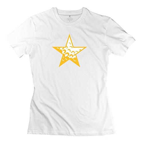 Golf Star Women Valentine'S Day T-Shirt Size Large White