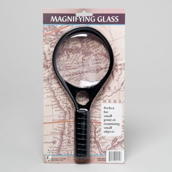 4 Inch Jumbo Magnifier W/handle - 1