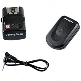 CowboyStudio NPT-04, 4 Channel Wireless Hot Shoe Flash Trigger Receiver