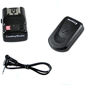 CowboyStudio NPT-04 4 Channel Wireless Hot Shoe Flash Trigger Receiver