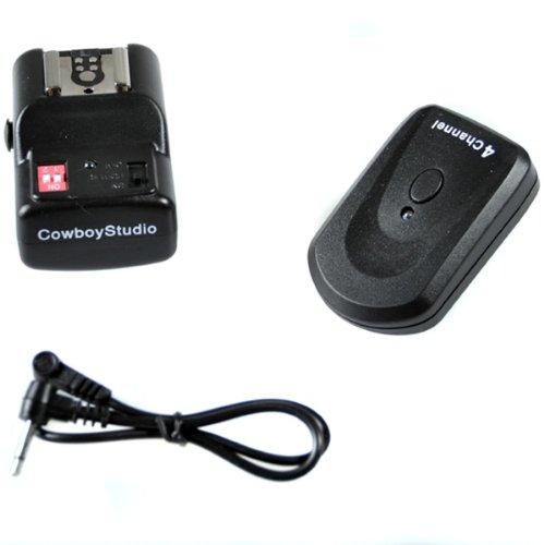 Cowboystudio Npt-04 4 Channel Wireless Hot Shoe Flash Trigger Receiver