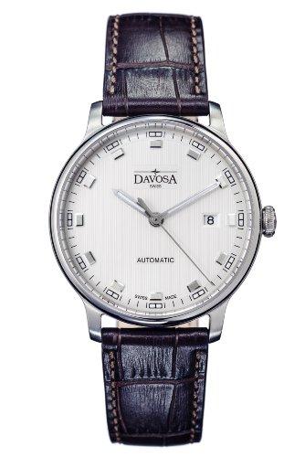 Davosa - 16151315 - Montre Homme - Automatique - Analogique - Bracelet Cuir Marron