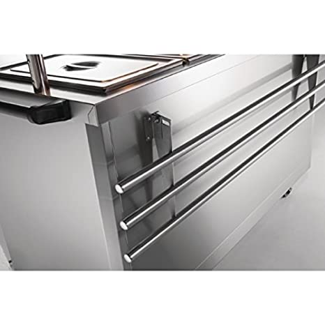 Lincat Panther Tray Slide for P8B4, P8P4, P6B4 and P6P4 Stainless steel construction. Dimensions: 25(H)x 1450(W)x 320(D)mm