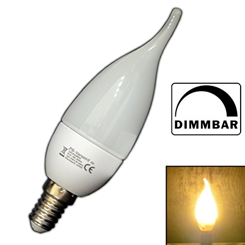 Pb versand lampadine a led dimmerabili a candela e14 3 for Lampadine led 100 watt