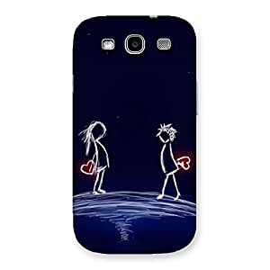 Stylish Sky Couple Back Case Cover for Galaxy S3 Neo