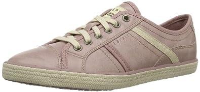 ESPRIT  Megan Lace Up, Baskets pour femme Rose Pink (lychee rose 705) 39