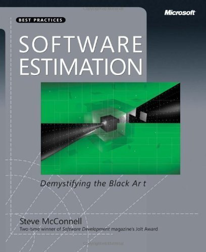 Software Estimation: Demystifying the Black Art (Best Practices (Microsoft)) by McConnell, Steve 1st (first) Edition [Paperback(2006)] PDF