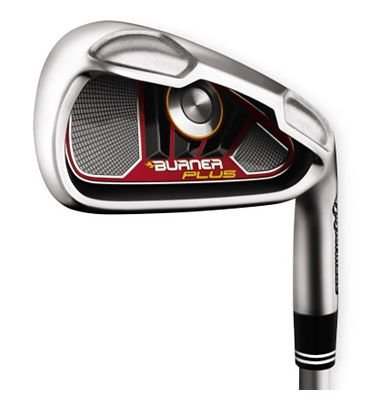 TaylorMade Burner Plus Irons 4-PW (Right Hand, Steel, Regular)