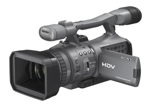 Sony HDR FX7 3 CMOS Sensor HDV High Definition Handycam Camcorder with 20x Optical Zoom