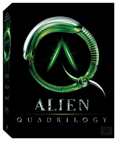 Cover art for  Alien Quadrilogy (Alien / Aliens / Alien 3 / Alien Resurrection)