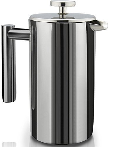 SterlingPro Double Wall Stainless Steel French Coffee Press, 1 Liter (Attractive Dishwasher compare prices)