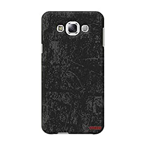 Gobzu Printed Back Covers for Samsung E7 - Grunge Black