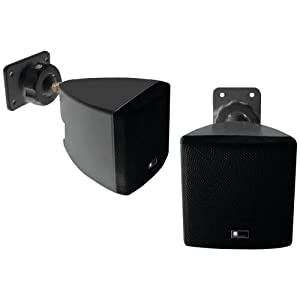 PURE ACOUSTICS HT770 BL MINI CUBE SPEAKER WITH WALL BRACKET (BLACK)