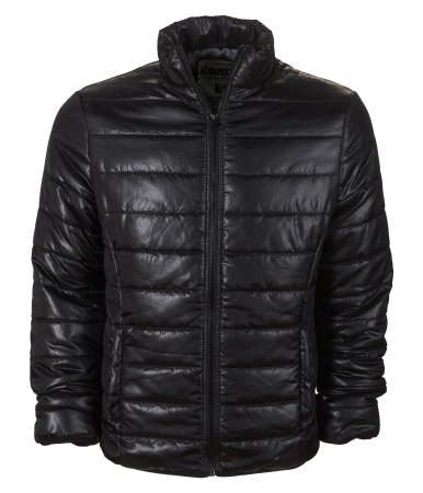 Aeropostale Mens/Juniors Puffer Jacket in Black - New Season (Large)