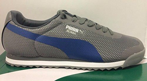 Puma-Mens-Roma-Mesh-New-2015-Grey-Sneakers