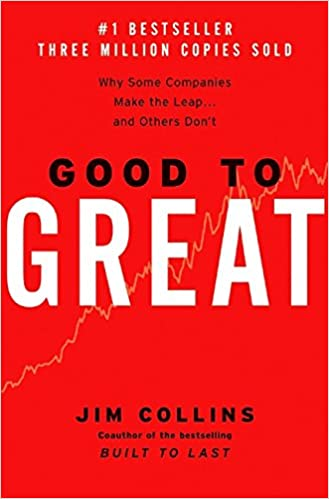 Good to Great by Jim Collins cover