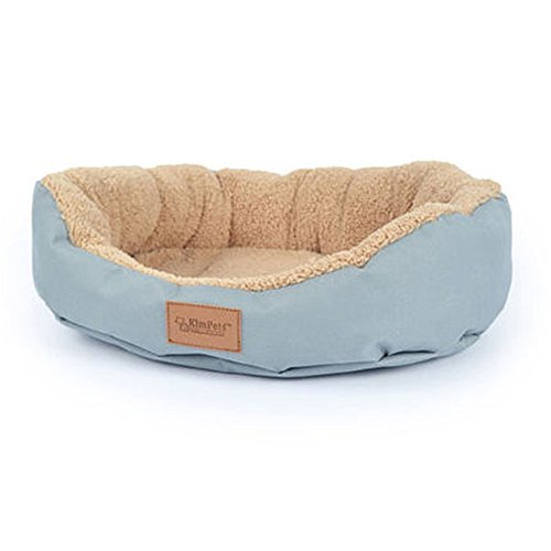 FFMODE Pet Dog Puppy Cat Soft Warm Bed Cozy Soft House Fleece Nest Cotton Mat Pad 18*16″, Grey, M