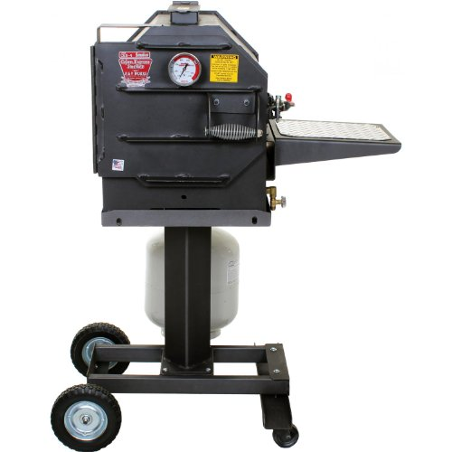 Cajun Express Smoker - 4 Rib Propane Pressure Smoker