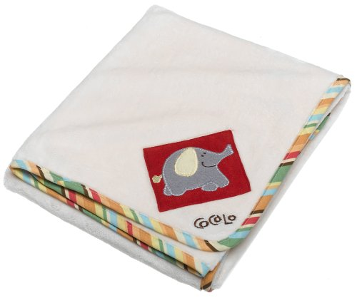 CoCalo Alphabet Appliqued Sherpa Blanket - 1