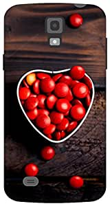The Racoon Lean Bowlful Of Love hard plastic printed back case for Samsung Galaxy S4 Active