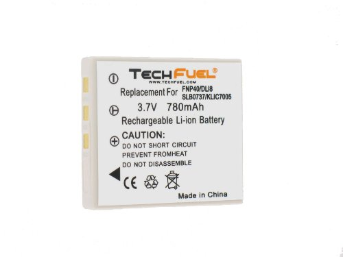 Samsung Digimax i5 Digital Camera Battery - Premium TechFuel® SLB-0737 Battery