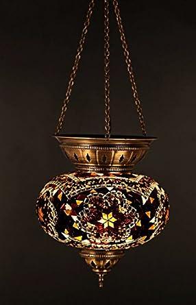 Ceiling Pendant Mosaic Lamp Candle Lamp Arabian Mosaic Lamp Moroccan Ligh