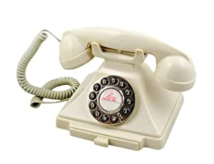 GPO 1929S Classic Carrington Push Button Telephone - Ivory