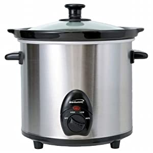 3-quart Slow Cooker Stainless Steel