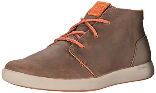 merrell-freewheel-mens-lace-up-hi-top-trainer-shoes-dark-earth-9-uk