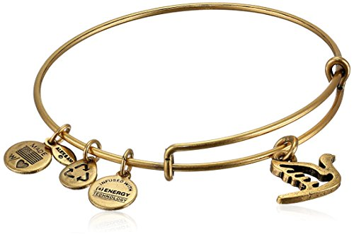 alex and ani bangle bar quot sacred dove quot gold color charm