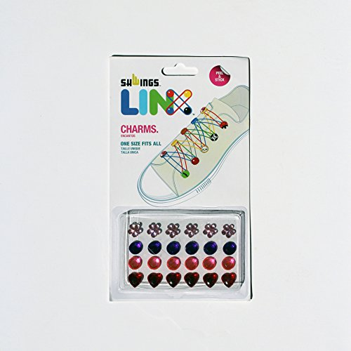 SHWINGS LINX Rainbow Rubber Band Footwear Accessory