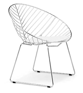 Zuo Whitworth Dining Chair Chrome (set of 2) (Discontinued by Manufacturer)