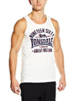 Lonsdale Camiseta Tirantes Camborne (Blanco)