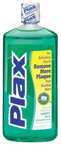 Plax Advanced Formula Plaque Loosening Rinse, Soft Mint