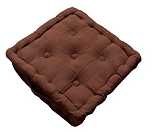 pin coussin de chaise pais carr imperm able chocolat on pinterest. Black Bedroom Furniture Sets. Home Design Ideas