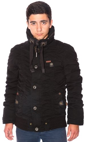 Khujo Winter Jacke Barney Plain black günstig online kaufen
