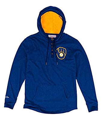 Milwaukee Brewers Playoff Spot Men's Royal Blue Pullover Hoodie