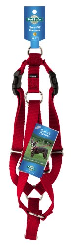 Petsafe Surefit 3/4-Inch Harness, Medium, Red
