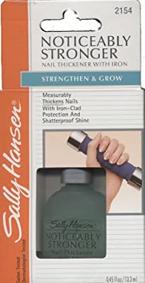 Sally Hansen Noticeably Stronger Nail Thickener With Iron Strengthen & Grow