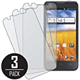 Z998 Screen Protector Cover, MPERO Collection 3 Pack of Matte Anti-Glare Screen Protectors for AT&T Z998