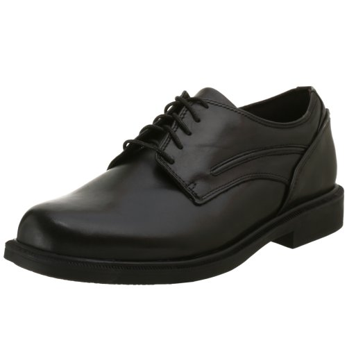 Dunham by New Balance Men's Burlington Waterproof Oxford,Black,9.5 D US