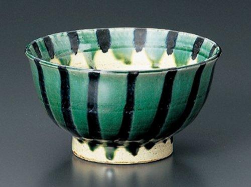 Oribe-Togusa Tohki Japanese Pottery Ramen-Bowl For Udon,Soba,Teriyaki-Bowl Made In Japan