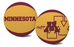 Buy NCAA Minnesota Golden Gophers Alley Oop Youth Size Basketball by Rawlings by Rawlings