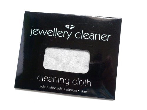 Jewellery Cleaner Cleaning Cloth - Gold , White Gold , Platinum , Silver