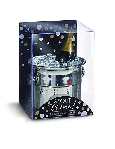 Grasslands Road Kitchen Champagne Bottle In Ice Bucket Cooking Timer (Grassland Timer compare prices)