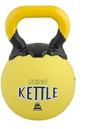 Performall Sports Bundle: 18lb Rhino Kettle Bell Yellow RKB18-1P