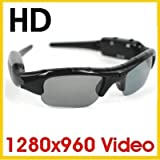 HD SpyCam * sunglass inkl. 4GB micro SD * 320x480 pixel Video * DVR DV * spy * cam * camcorder * Sun glass Spion * Sport Action Cam * NEW