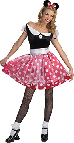 Morris Costumes Women's MINNIE MOUSE ADULT, 12-14