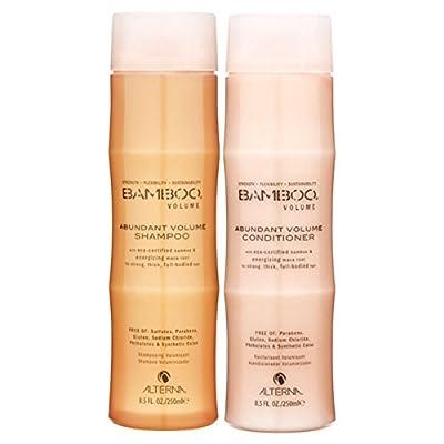 Alterna Bamboo Abundant Volume Shampoo and Conditioner Set (8.5 Oz Each)